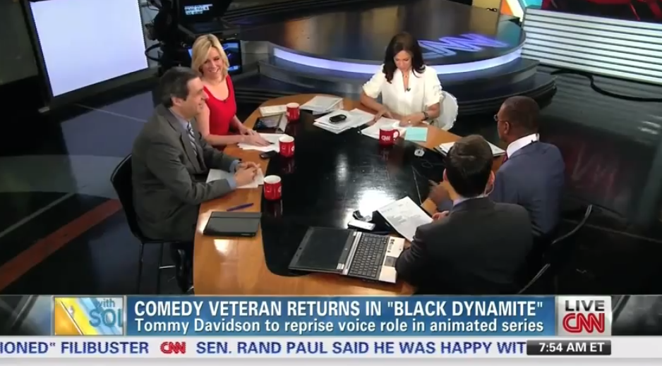 Tommy Davidson returns to Black Dyanmite for Season 2