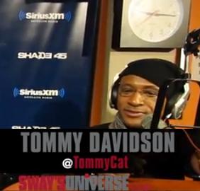 Tommy Davidson visits Sway
